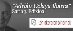 Tercera edición Premios Adrian Celaya
