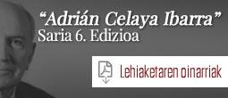 Sexta edición Premios Adrián Celaya